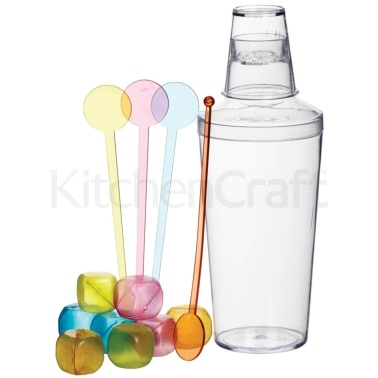 BarCraft 13 Piece Cocktail Shaker Set