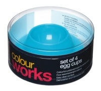 Colourworks Set of 4 Egg Cups
