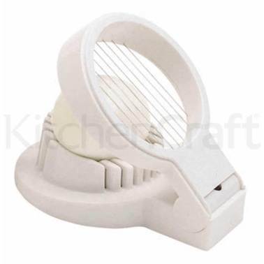 KitchenCraft Heavy Duty Plastic Egg Slicer
