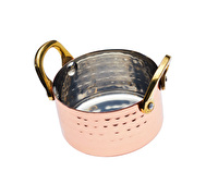 Artesà Mini Copper 8cm Serving Dish with Handles