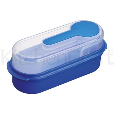 KitchenCraft Blue Lunch & Snack Box