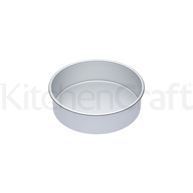 Master Class Silver Anodised 25cm Deep Cake Pan