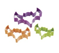 Sweetly Does It Set of 3 Bat Shaped Cookie Cutters