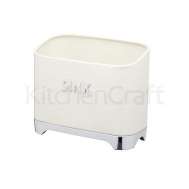 Lovello Vanilla Cream Kitchen Sink Caddy