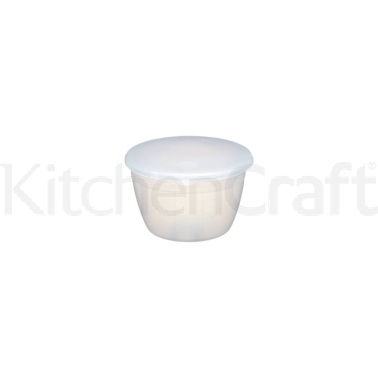 Vaschette per pudding con coperchio  in plastica 275ml
