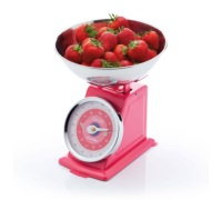 Colourworks Pink 3kg Mechanical Scales