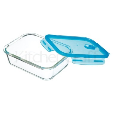 Pure Seal Glass Rectangular 1 Litre Storage Container