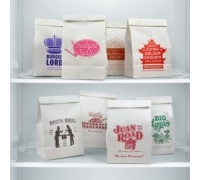 Fred Take-Out Fake-Out Paper Lunch Bags