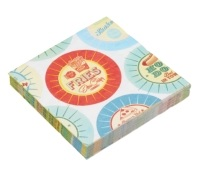 World of Flavours Stateside Pack of 20 Paper Napkins