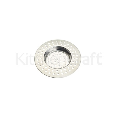 KitchenCraft Stainless Steel Sink Strainer