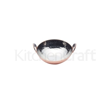 Artesà Copper Finish Mini Kadai Serving Dish