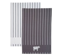 Kitchen Craft Butchers Boy Set of 2 Tea Towels