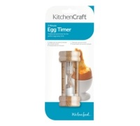 Kitchen Craft Traditional Three Minute Sand Egg Timer