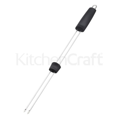 Master Class Double Pronged Slider Barbecue Skewer