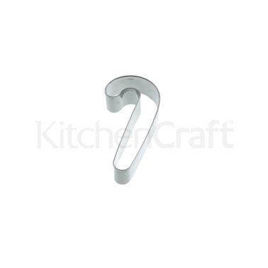 Kitchen Craft 10.5cm Candy Cane Shaped Cookie Cutter