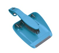 Colourworks Blue Dustpan and Brush Set