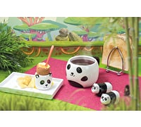 KitchenCraft Ceramic Panda-Shaped Novelty Egg Cup