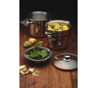 KitchenCraft World of Flavours Italian Pasta Pot with Steamer Insert