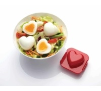 Let's Make Heart Egg Mould