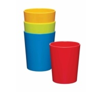 Let's Make Set of 4 Melamine Tumblers