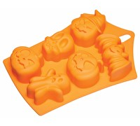 KitchenCraft Spookily Does It Silicone Embossed Baking Pan / Jelly Mould