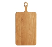 MasterClass Gourmet Prep & Serve Large Oak Paddle Board