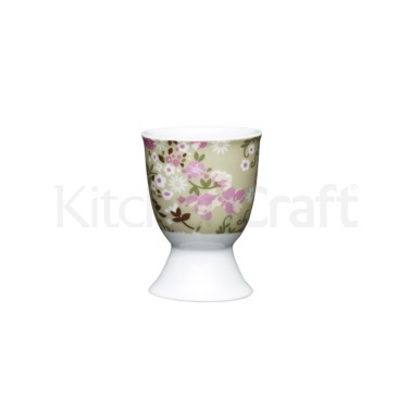 Kitchen Craft Floral Meadow Porcelain Egg Cup