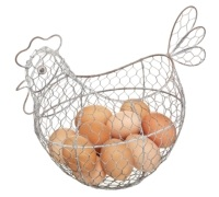 Kitchen Craft Wire Egg Basket