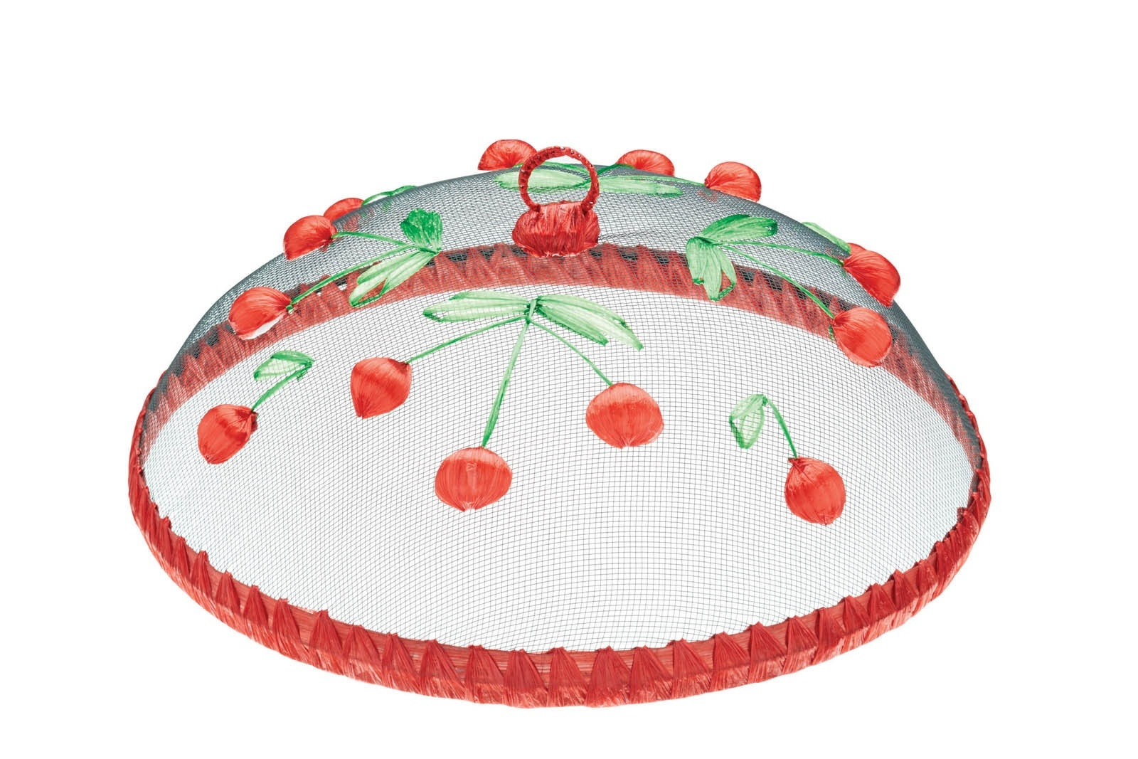 Kitchen craft round fabric mesh embroidered rigid food covers for Kitchen xpress overseas ltd contact number