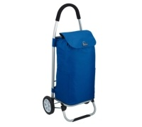 Coolmovers Blue Foldable Shopping Trolley