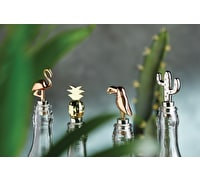 BarCraft Flamingo Bottle Stopper