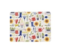 Kitchen Craft Homegrown Cork Back Laminated Set of 4 Placemats