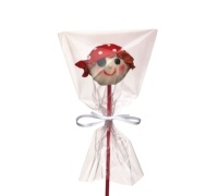 Sweetly Does It Pack of 12 Cake Pop Bags with Ties