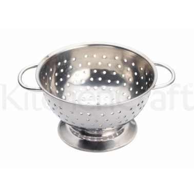 Kitchen Craft Stainless Steel 10cm Mini Novelty Colander