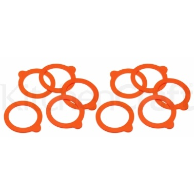 Home Made Pack of 10 Spare Terrine Jar Sealing Rings