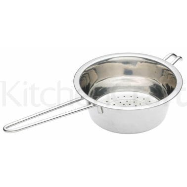Kitchen Craft Stainless Steel 16cm Long Handled Colander