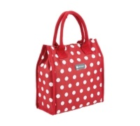 Coolmovers 4 Litre Red Polka Lunch / Snack Cool Bag