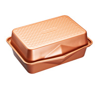 MasterClass Smart Ceramic 42.5 x 31.5 cm Heavy-Duty Stackable Roasting Pan Set