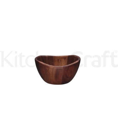 Master Class Appetiser Small Acacia Wood Bowl