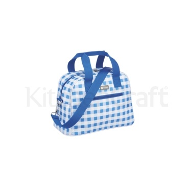 Coolmovers 11.5 Litre Gingham Holdall Style Cool Bag