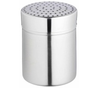 KitchenCraft Stainless Steel Medium Hole Shaker and Lid