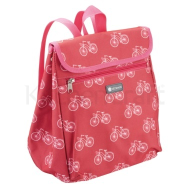 KitchenCraft Bicycle Print 8 Litre Backpack Cool Bag
