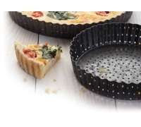Master Class Crusty Bake Non-stick Fluted Round 30cm Quiche Tin
