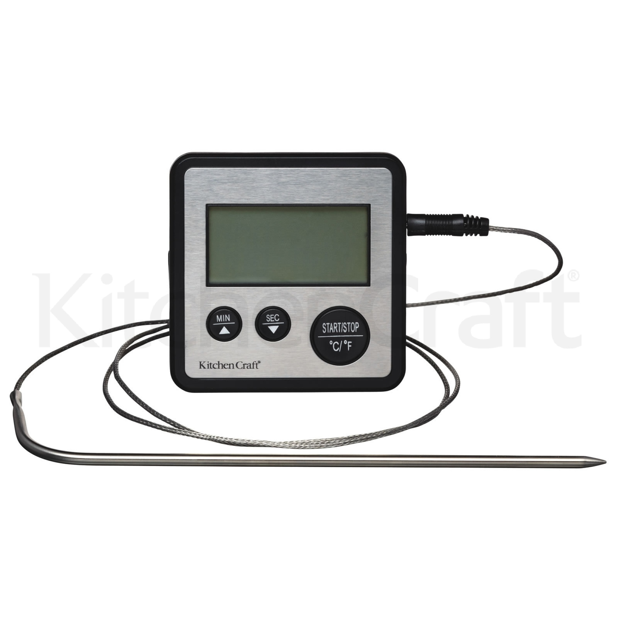 KitchenCraft Digital Cooking Thermometer and Timer   Thermometers ...