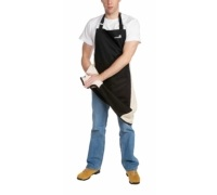 Master Class Deluxe Professional Black Large Apron