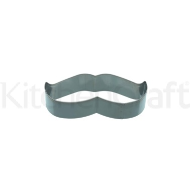 KitchenCraft 9cm Moustache Shaped Cookie Cutter