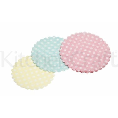 Lot de 30 mini-napperons en papier