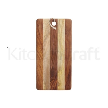 MasterClass Gourmet Prep & Serve Two Tone Serving Board