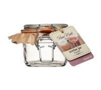 Bocal terrine en verre 125 ml