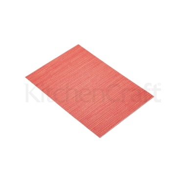 Kitchen Craft Woven Brights Red Placemat